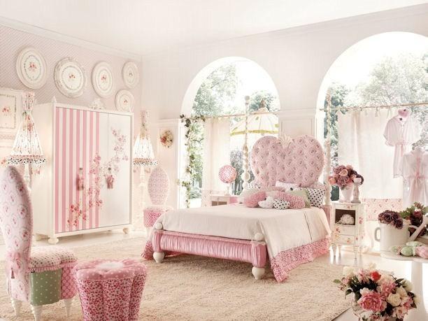 Dormitorio para chica adolescente en rosa ideas para for Decoracion habitacion chica