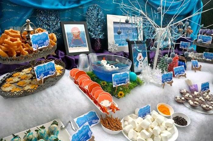 Decoración de Fiesta de Frozen : Fiestas Infantiles Decora