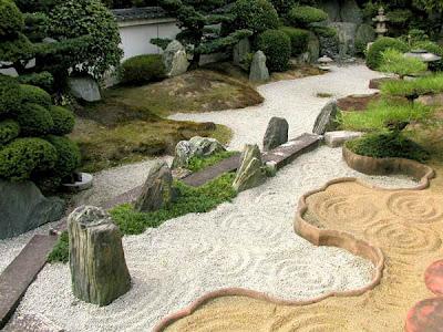 foto parque jardin zen japones