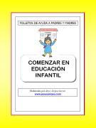 COMENZAR EN EDUCACIÓN INFANTIL