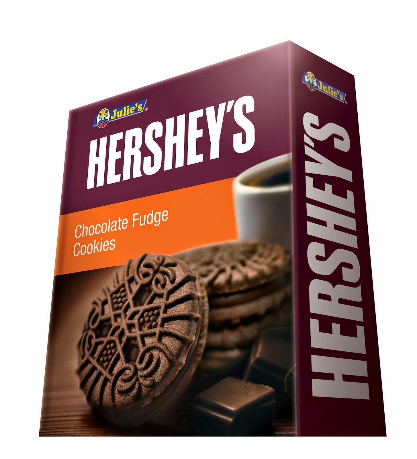 Julie Hershey Chocolate Fudge Cookies