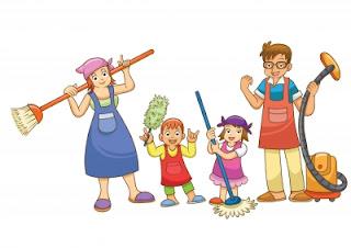 11 Tips kompak dalam pekerjaan rumah tangga