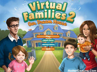 Free Download Virtual Families 2 Our Dream House Pc Game Cover Photo