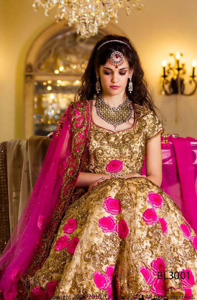 Elegant south asian bridal dress collection 2012 2013 for Asian bridal wedding dresses
