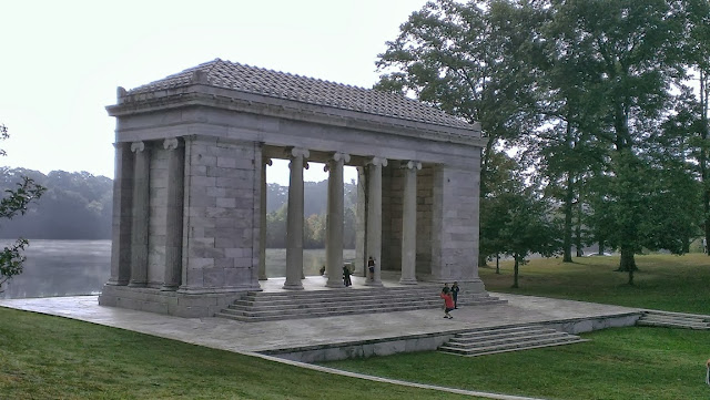 Music temple at Roger Williams park