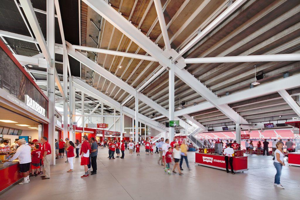 levi's stadium details architecture