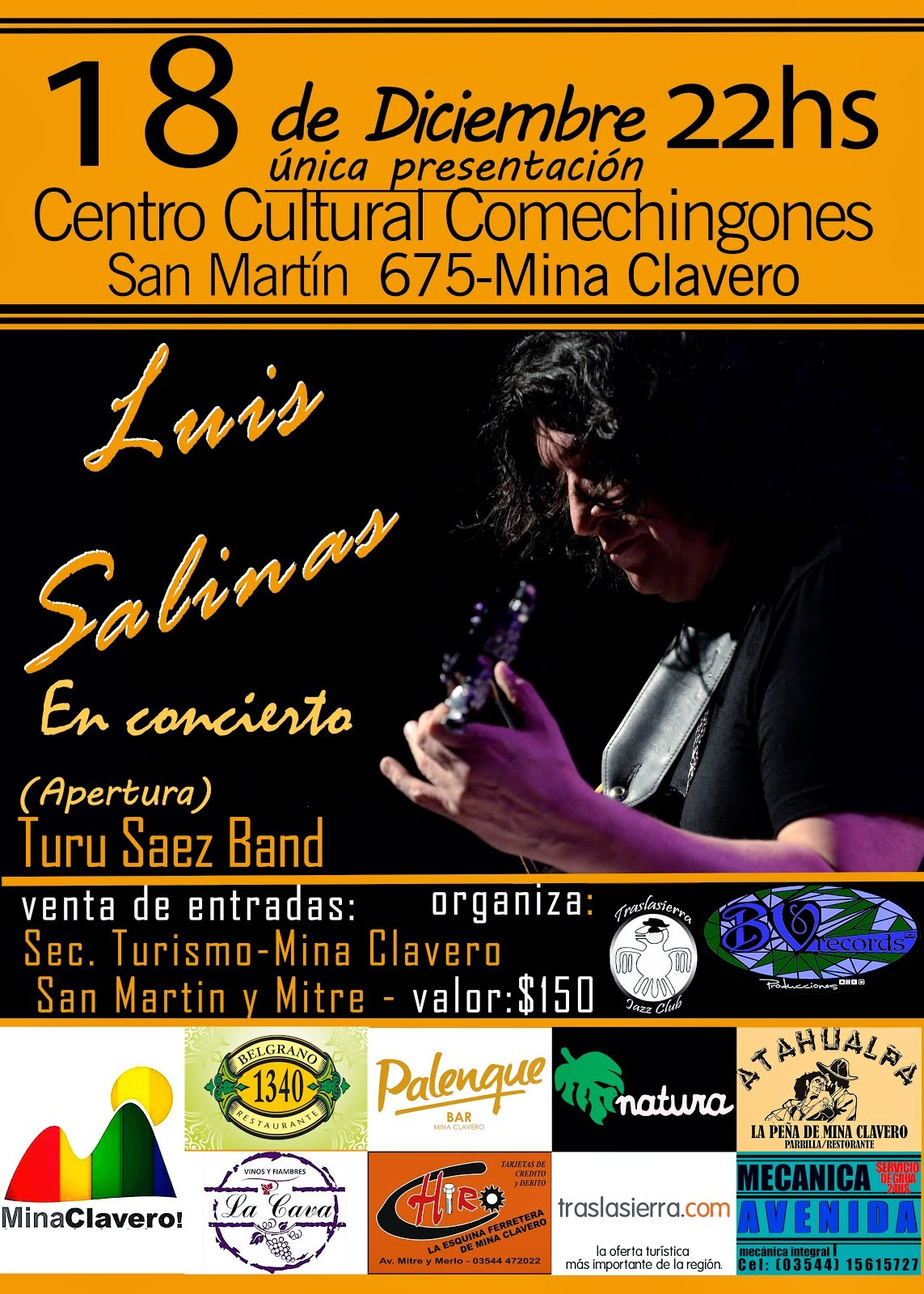 Apertura Concierto Luis Salinas