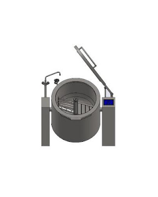 Customized Heavy Duty Jacket Boiling Pan