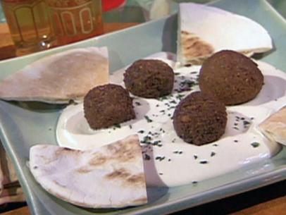 Drain and rinse both the fava beans as well as the chickpeas Falafel with Tahini Sauce Recipe