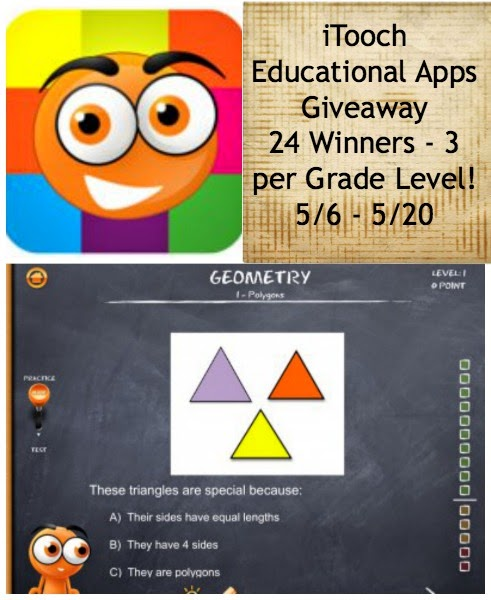 iTooch Educational Apps Giveaway