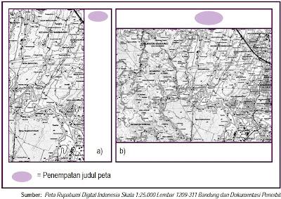 Peta rupabumi digital topografi