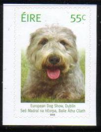 2009年アイルランド アイリッシュ・ウルフハウンドの切手