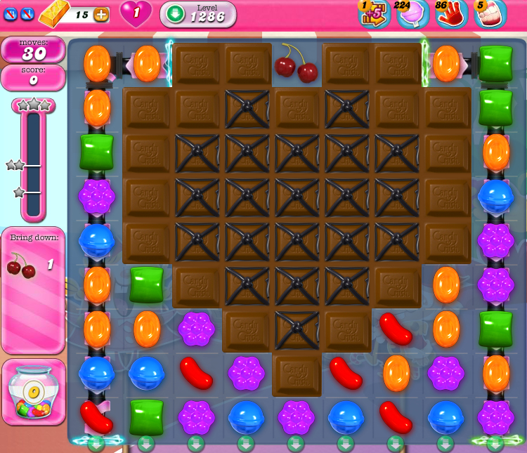 Candy Crush Saga 1286