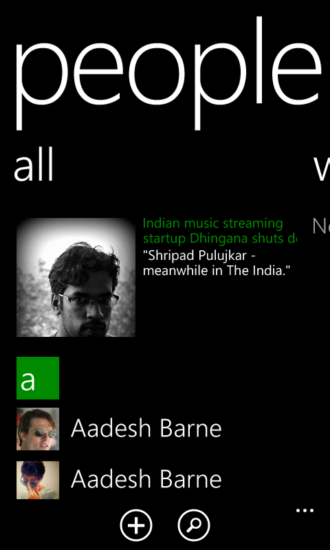 Metro UI Typography on Windows Phone