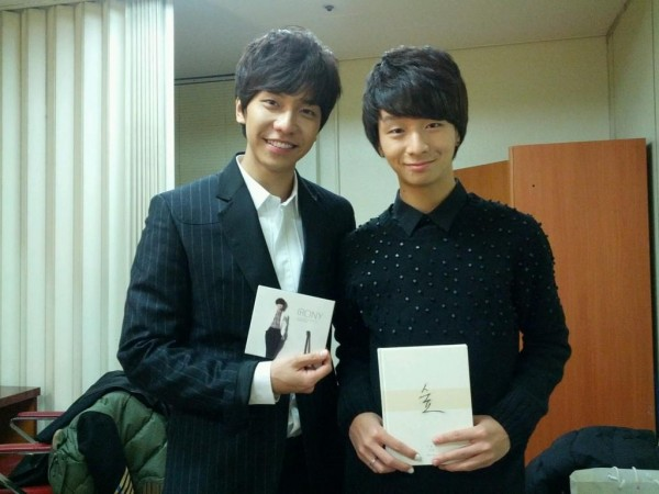Lee Seunggi & Jung Sung Ha