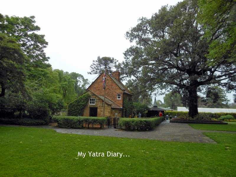 Captain cooks cottage, Fitzroy Gardens in Melbourne Australia