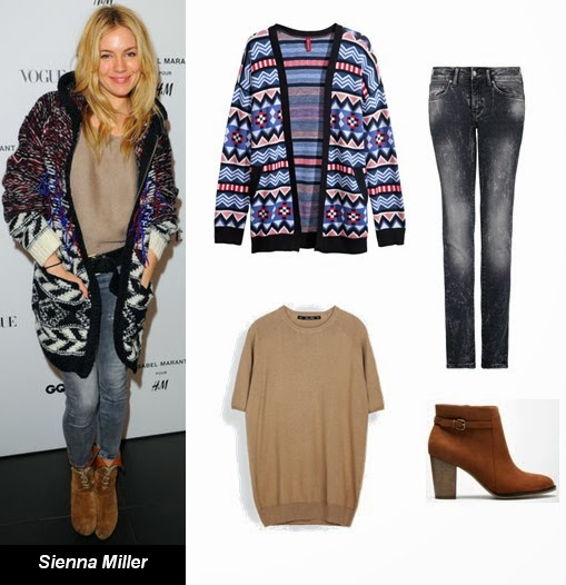 Sienna Miller best dressed November 2013