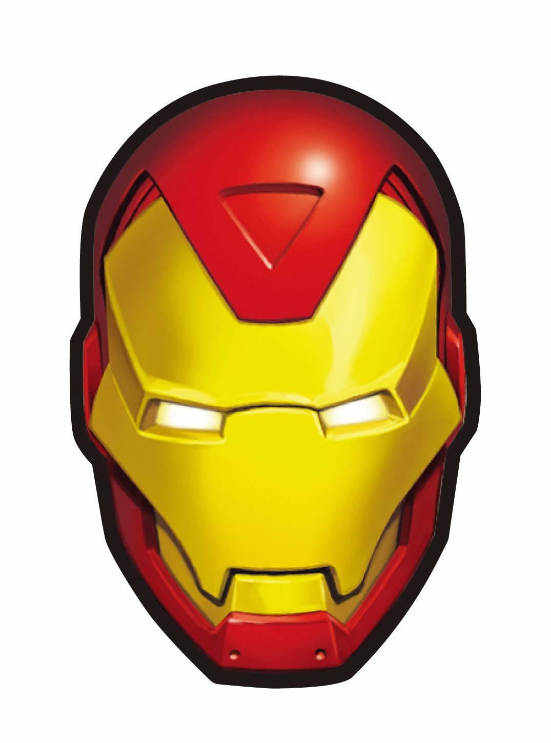 iron man face mask template - iron man face the image kid has it