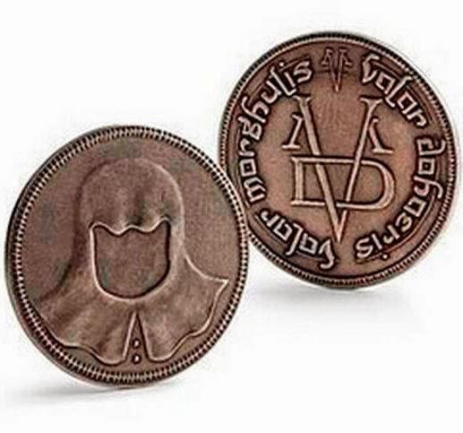 Moneda Valar Morghulis. Juego de Tronos