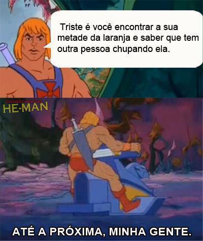 Meme do He-man no Facebook