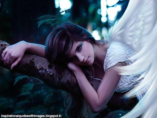cute angel wallpaper