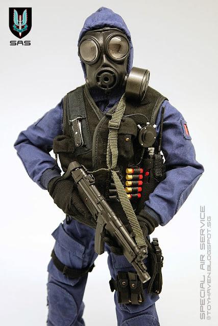 Sas combat uniform
