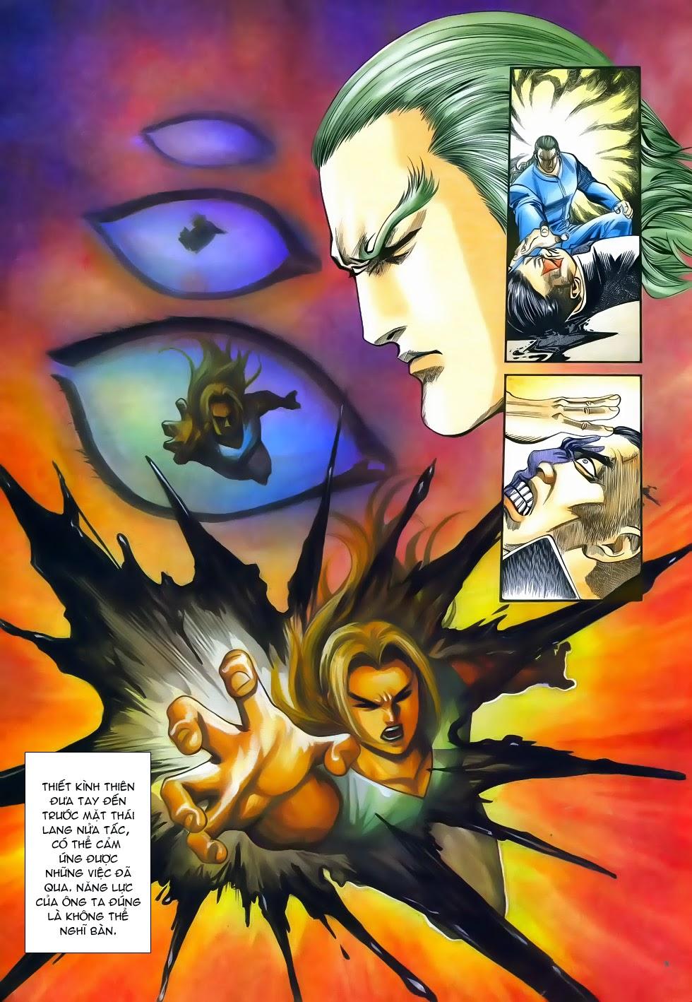 Long Hổ Phong Bạo chap 3 - Trang 31