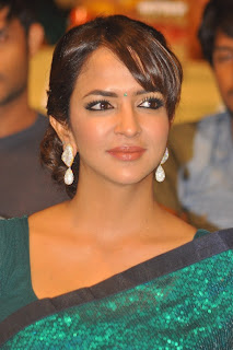 Manchu Lakshmi Prasanna in Saree at Satya 2 Movie Audio Launch
