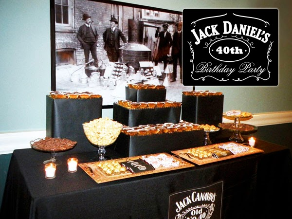 Ideas to Decorate Whisky Parties.