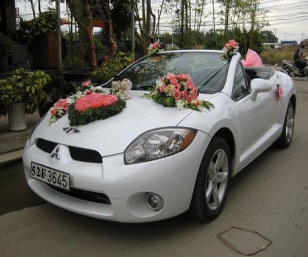 Xe cưới Mitsubishi Eclip mui trần