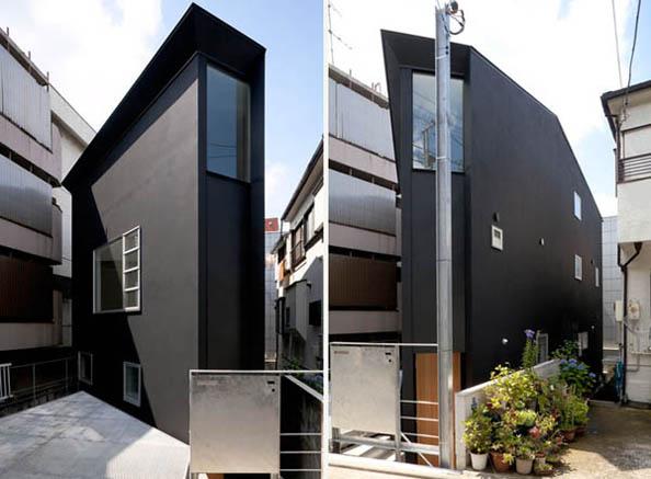 Construir uma enorme casa numa nesga de terreno site do for Casas reducidas