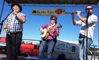 Enjoying the craic at the Irish Festival on the Jersey Shore
