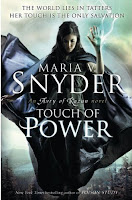 UK book cover for Touch of Power by Maria V Snyder