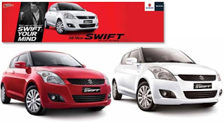 Spesifikasi dan Harga Suzuki All New Swift 2013
