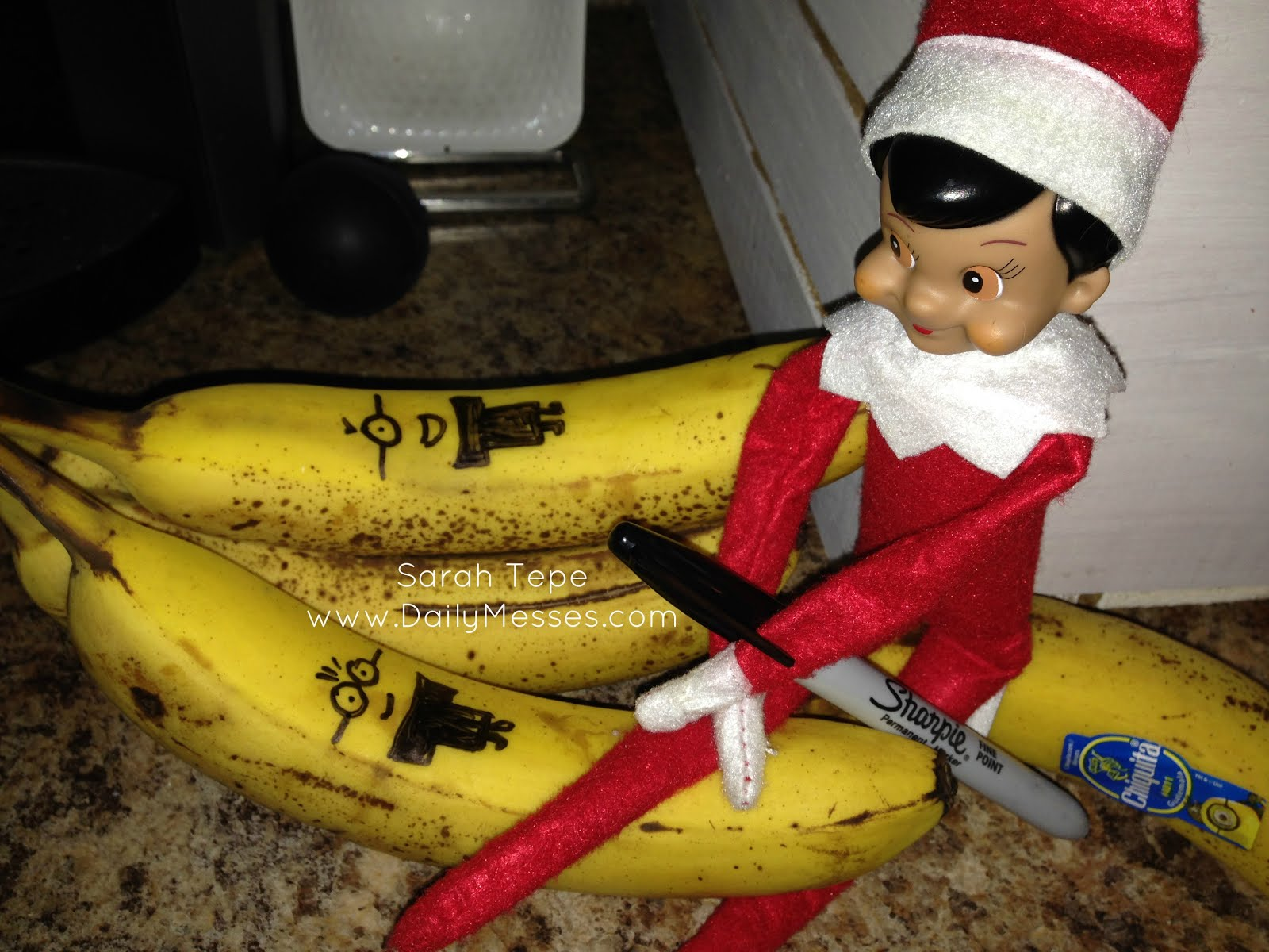 Daily Messes Elf On The Shelf Days 1 2
