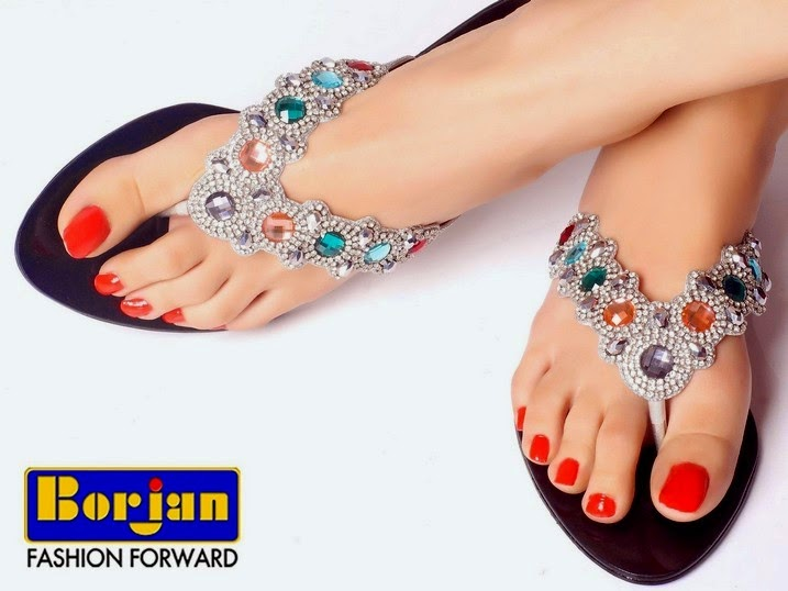 Ladies Eid Collection Footwear Designs