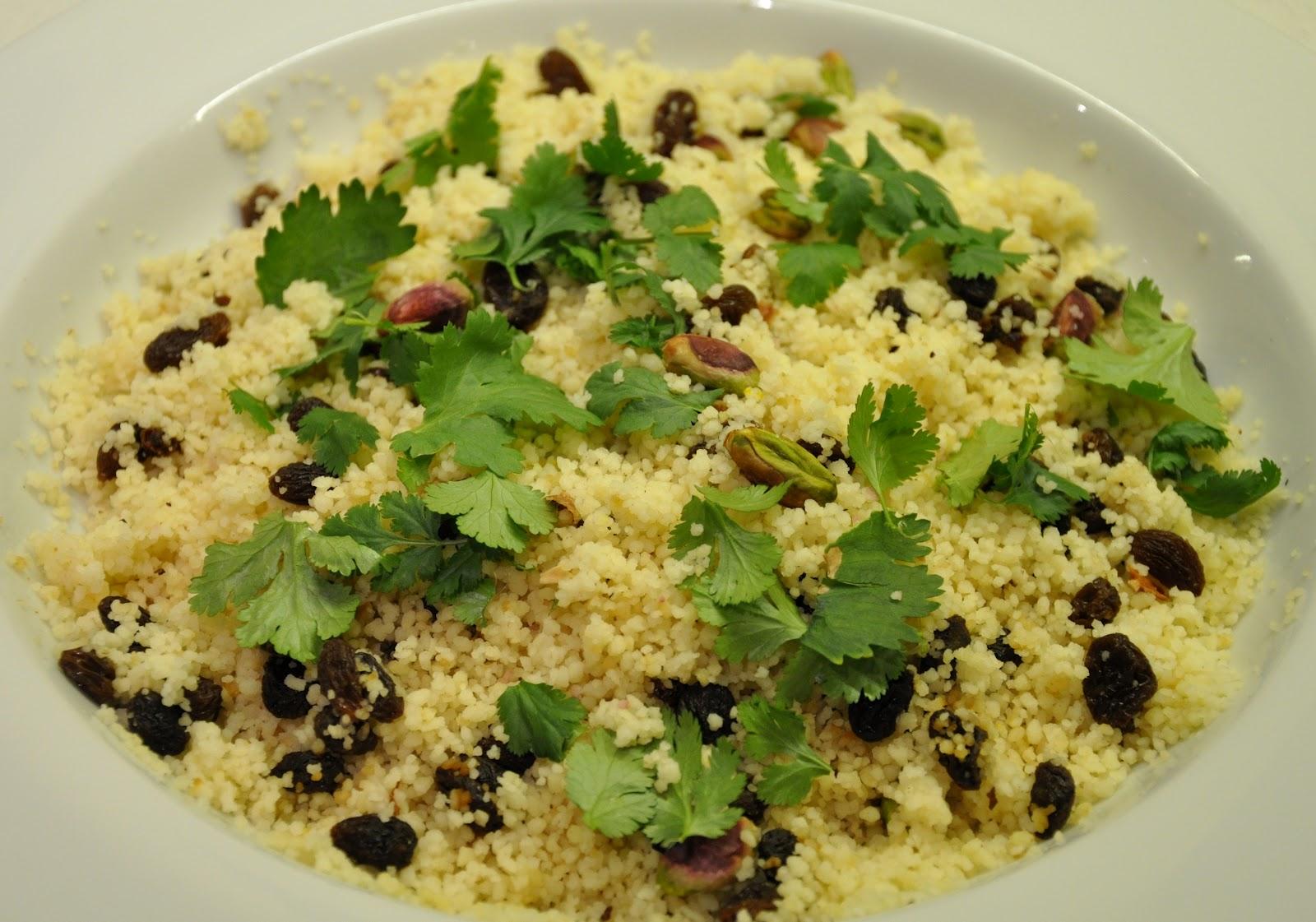 ... Artichoke and Green Olive Tagine, with Saffron and Pistachio Couscous