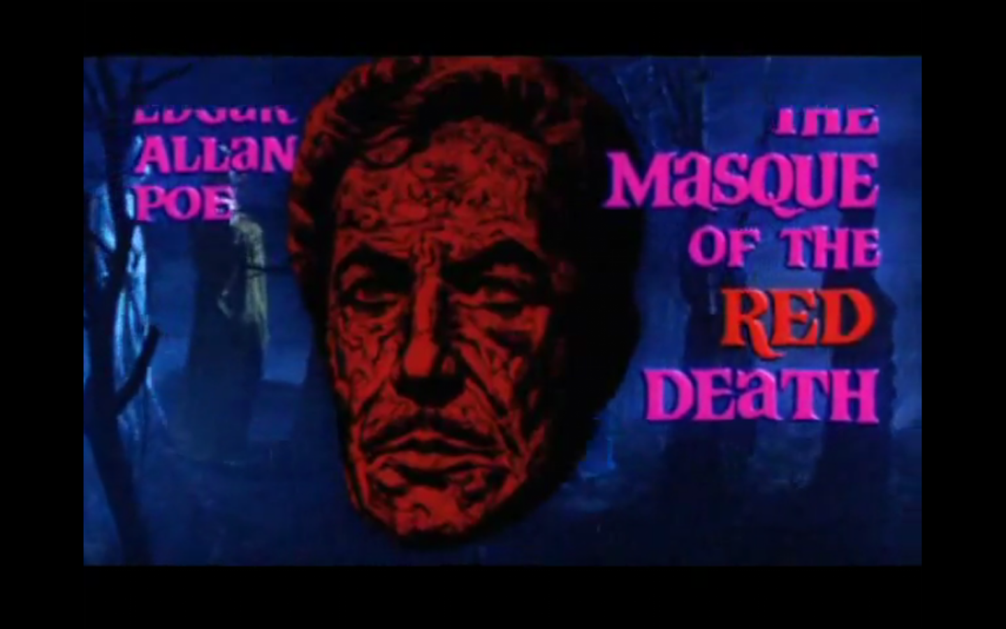 the masque of the red death compared and contrasted to the movie