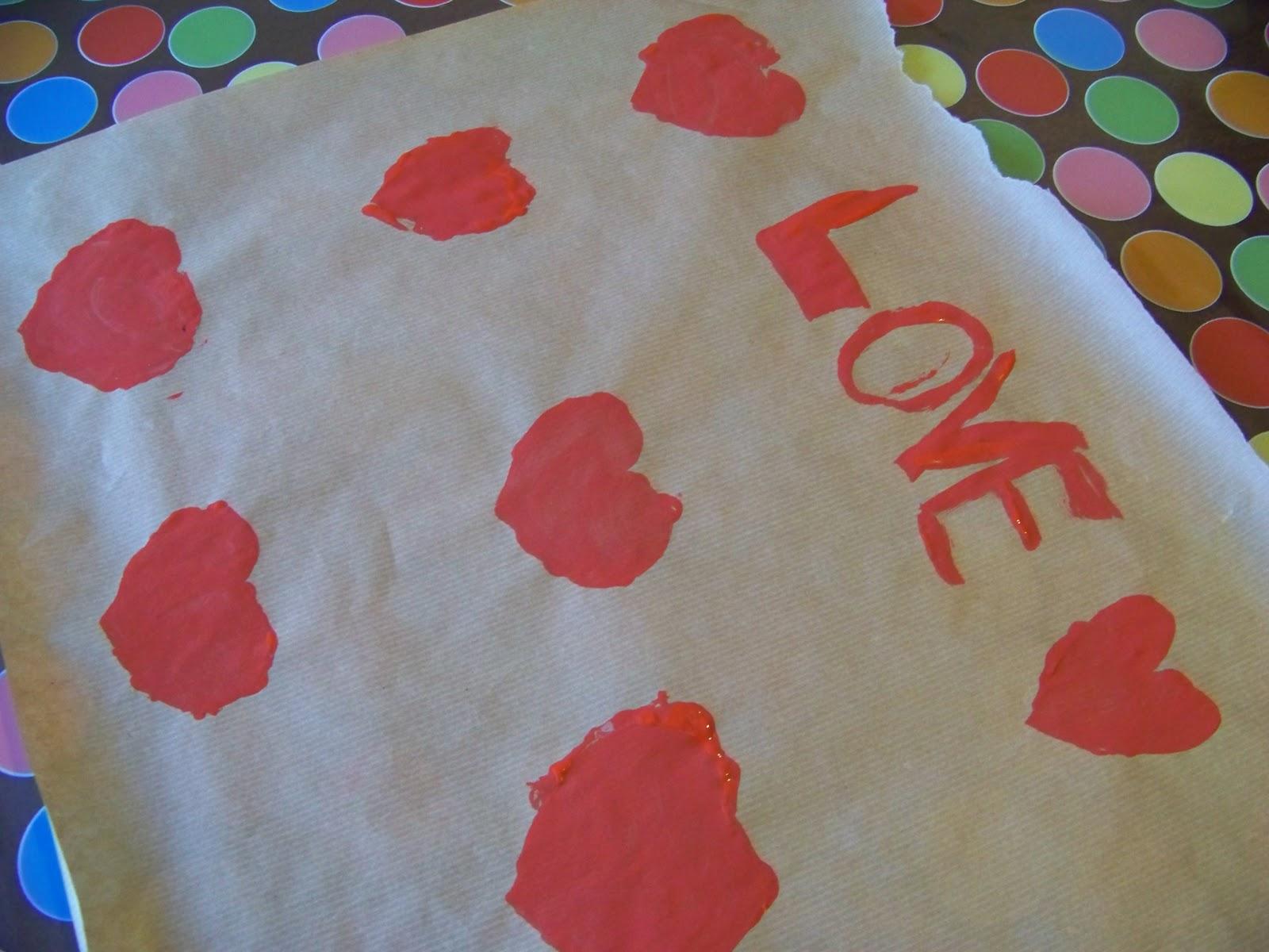 Mamma giochiamo lavoretti per san valentino carta - Decorazioni san valentino fai da te ...