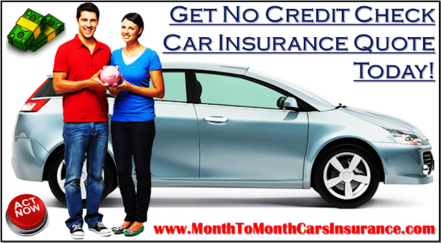 Cheapest No Credit Check Car Insurance