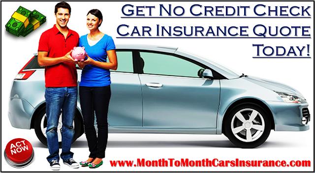 Cheapest No Credit Check Car Insurance