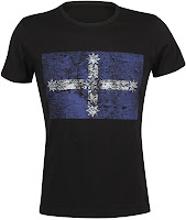 Eureka Flag T-shirt - Black