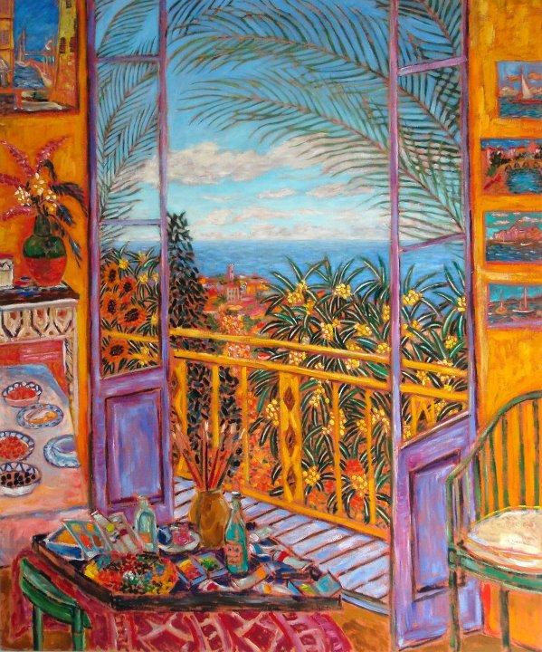 Bonnard's Dining Room - Le Cannet, 1943