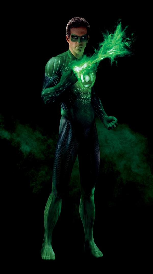 ryan reynolds green lantern body scan. Green Lantern CGi costume!