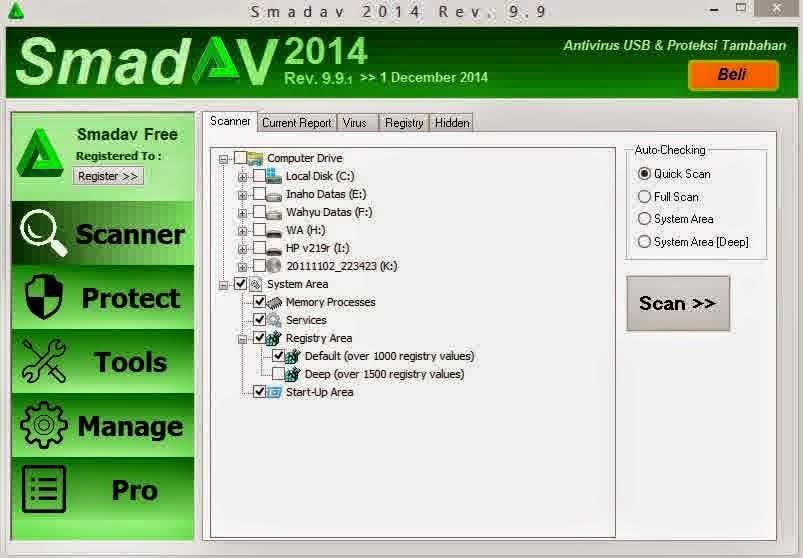Antivirus Terbaru Update Smadav 9.9