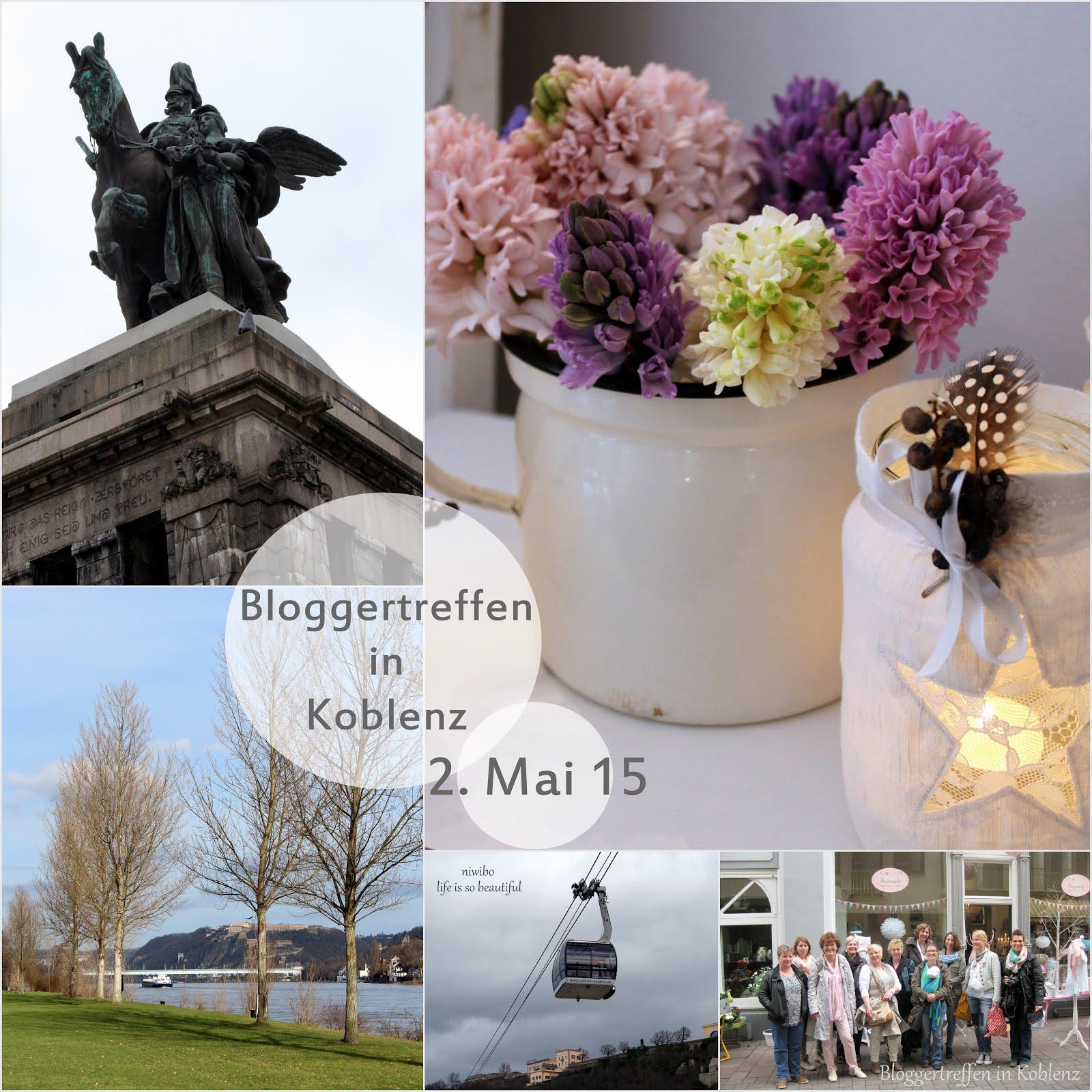 Bloggertreffen in Koblenz 2015