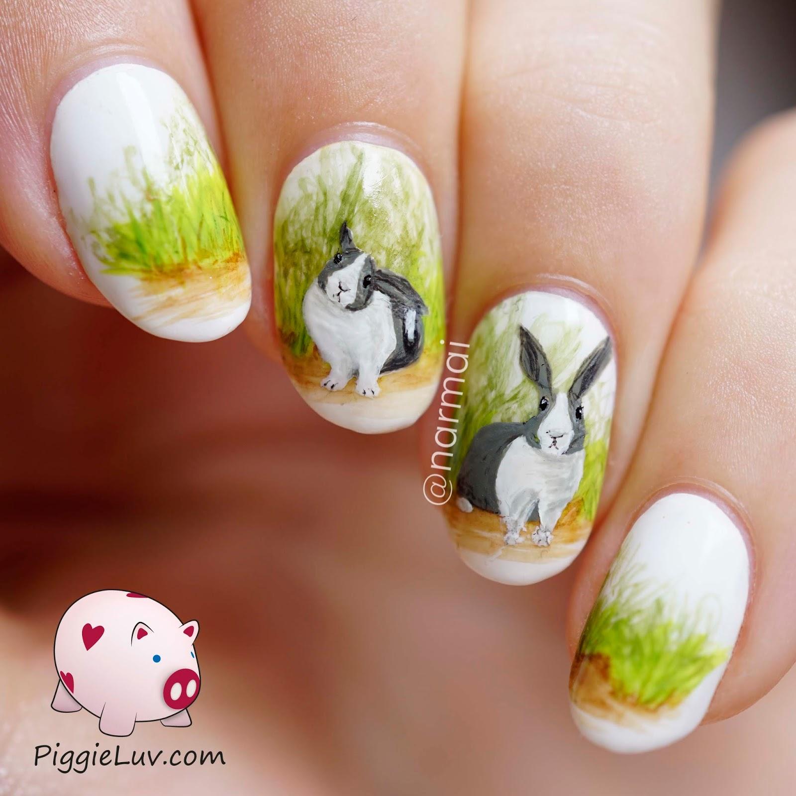 Маникюр с животными 60 фото идей красивых ногтей