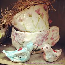 new love birds & pottery