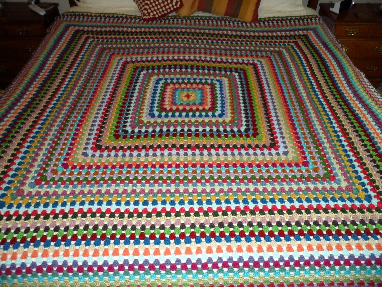 Easy Crochet Pattern: Granny Gone Wild Crochet Along