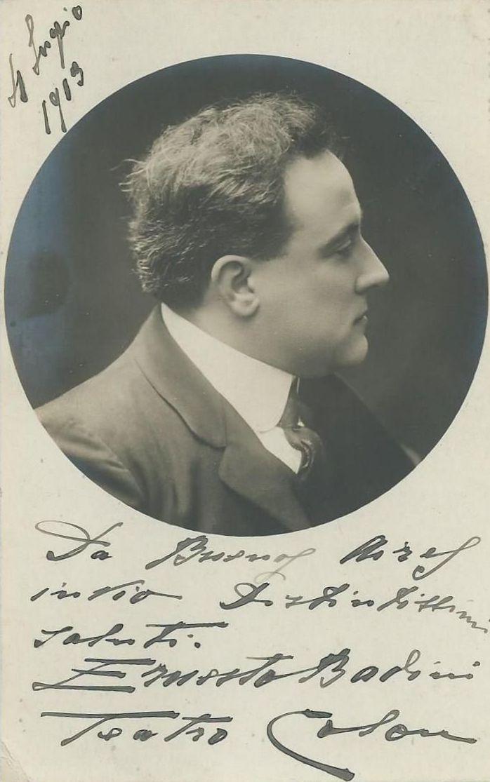 BARITONE ERNESTO BADINI (1876-1938) CD